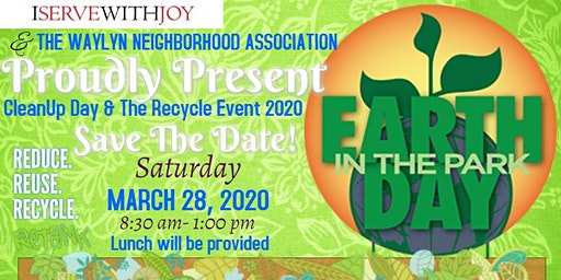 Waylyn Cleanup Day & Recycle Event 2020