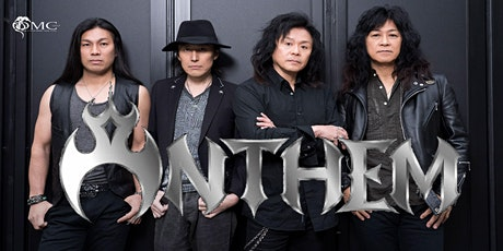 ANTHEM legendary metal band from Japan live at Ragnarok Bree Belgium tickets