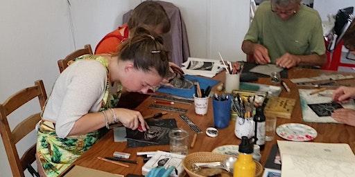 How to make Beautiful Linoprints