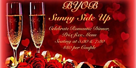 Celebrate Valentine's Day, Romantic Dinner, Prix Fixe Menu At Sunny Side Up tickets