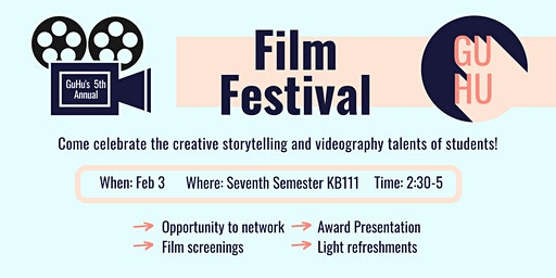 GuHu Media's 5th Annual Film Festival