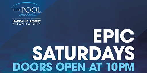 Kate Chastain & Captain Lee   Epic Saturdays at The Pool REDUCED Guestlist
