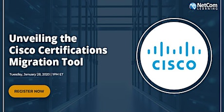 Virtual Event - Unveiling the Cisco Certifications Migration Tool tickets