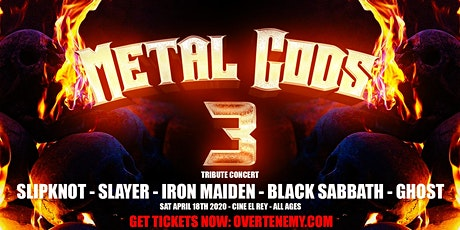 Metal Gods 3 tickets