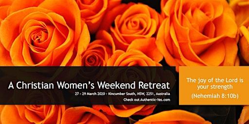 A weekend retreat of joy