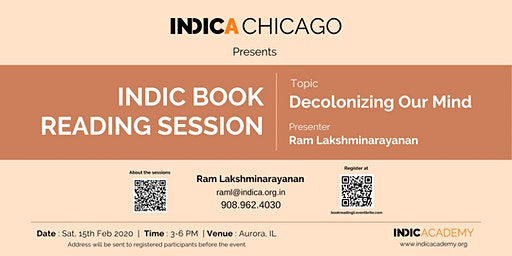 Indic Book Reading Session II