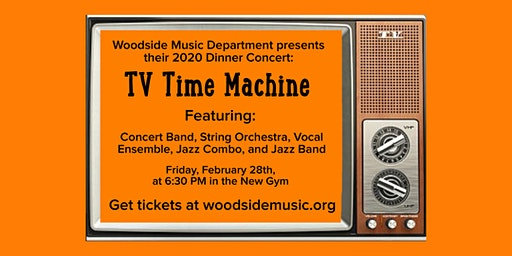 Woodside High School Music Dinner Concert and Fundraiser 2020