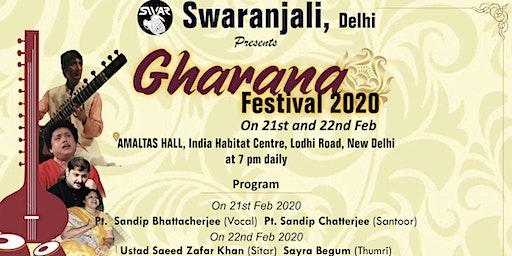 Gharana Festival 2020 by Swaranjali