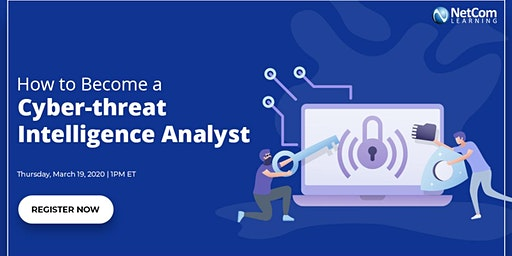Virtual Event - How to Become a Cyber-threat Intelligence Analyst
