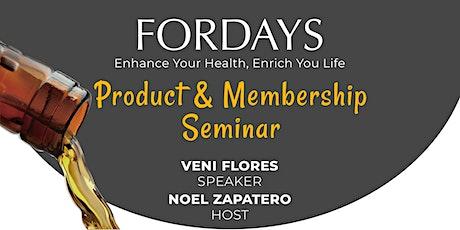 Fordays Product & Membership Seminar tickets