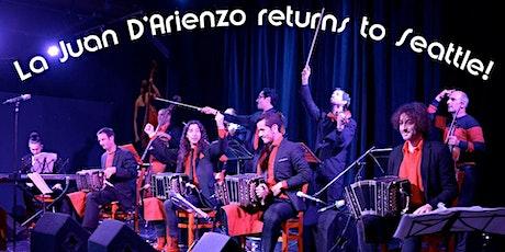 La Juan D'Arienzo in Seattle tickets