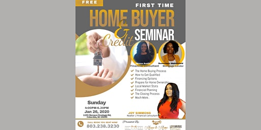 First Time Home Buyer & Credit Seminar