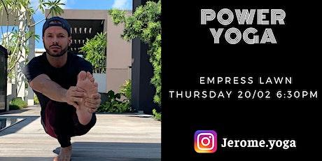 Power Yoga @ Empress Lawn tickets