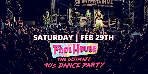 FOOLHOUSE - The Ultimate 90's Dance Party!