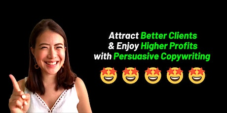 MAGNETIC PERSUASION MASTERY CLASS 2020 (COPYWRITING & FACE-TO-FACE SALES) tickets