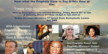 Times and Seasons Prophetic Conference tickets