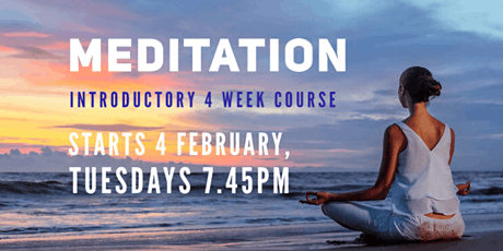 Meditation: Introductory 4 week Course tickets