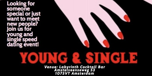 Young and single speed dating event