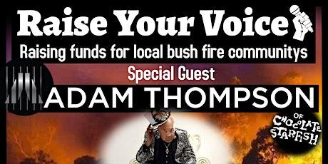 """Raise Your Voice"" tickets"