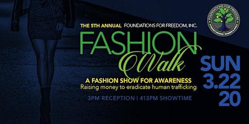 Foundations for Freedom FashionWalk 2020