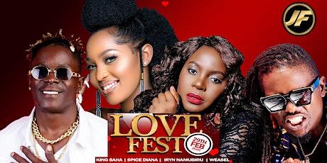 LoveFest with King Saha, Spice Diana, Iryn Namubiru & Weasel tickets