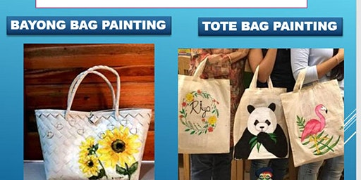 Make and Take Workshop Tote Bag and Bayong Bag Painting