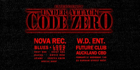 CODE ZERO Vol.1 tickets
