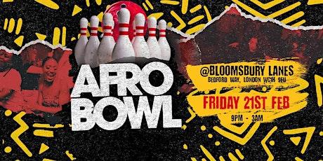 Afrobowl tickets