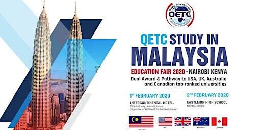 QETC Study Malaysia  Education Fair 2020 - Intercontinental Hotel, Nairobi.