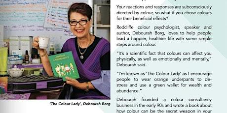 Colour psychology using Dōterra essential oils tickets