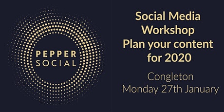 Social Media Workshop - Plan your content for 2020 tickets