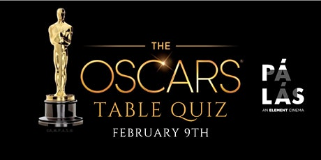 Oscars Table Quiz tickets