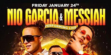 Nio Garcia & Messiah Live At SL Lounge tickets