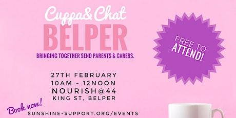 Cuppa + Chat - Belper - February tickets