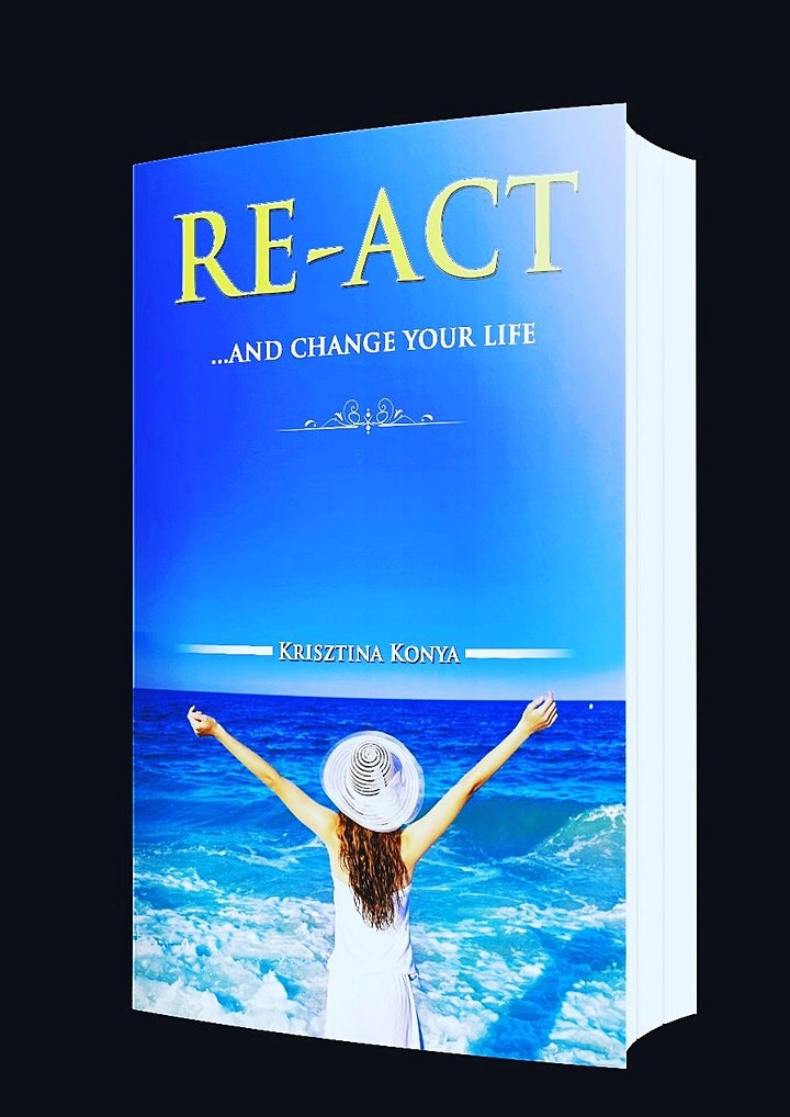 RE-ACT…and change your life Book launch & exhibition & motivational evening image