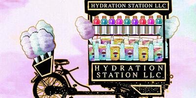 Hydration Station LLC 1 year anniversary Vendor Expo