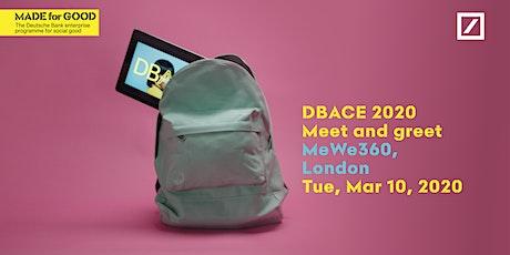 DBACE 2020: London Meet & Greet tickets