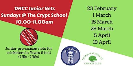 Down Hatherley CC Junior Cricket Nets tickets