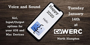 Apple Users Group January 2020 - Sound Off -...