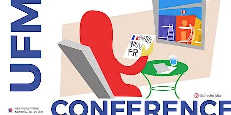 Conférence: Les impôts des français au Québec billets