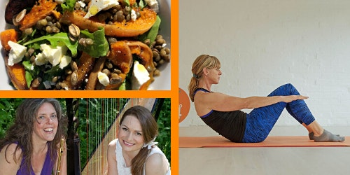 An evening with a difference - Pilates, Live Music and food