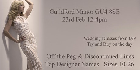 Guildford Manor Wedding Fair and Bridal Sale tickets