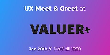 UX Meet & Greet at Valuer.ai tickets