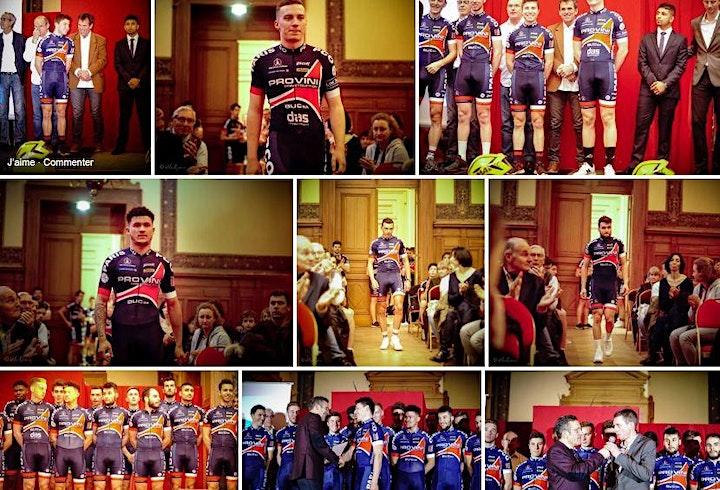 Image pour Présentation des équipes du Paris Cycliste Olympique