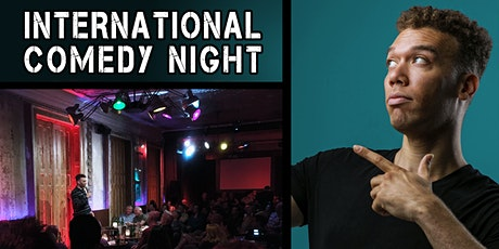Prague English Comedy Night Tickets