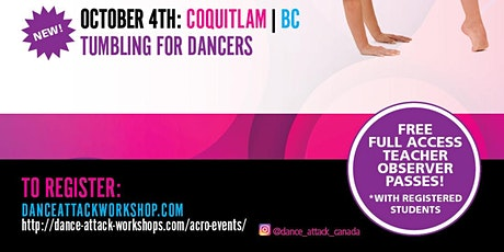 Dance Attack Acro BC tickets