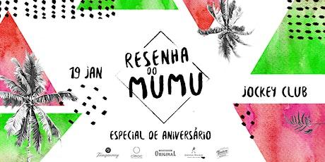 Resenha do Mumu | 19 Jan ingressos