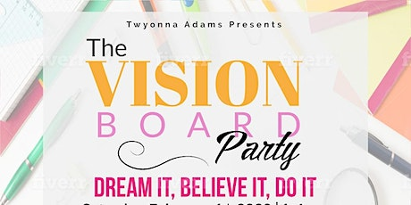 The Vision Board Party tickets