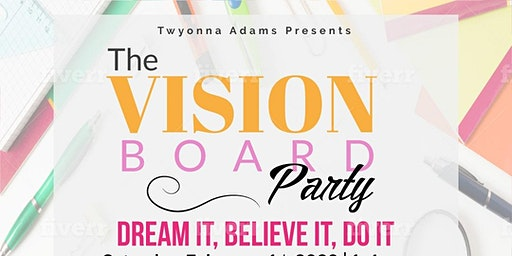The Vision Board Party