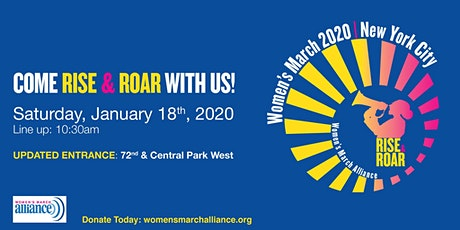 Women's March on NYC (Official) tickets